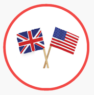 Inglês Britânico vs. Americano